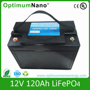 12V 120ah LiFePO4 Rechargeable Battery for Solar Street Lighting pictures & photos