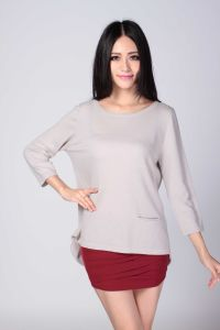 Ladies′ Fashion Cashmere Sweater (1500008067) pictures & photos
