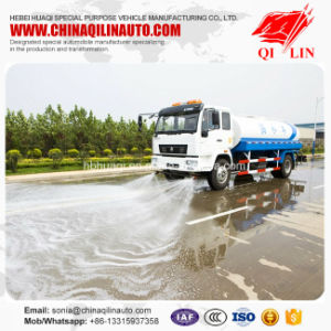 China Famous Brand Water Sprinkling Truck with Water Pump pictures & photos