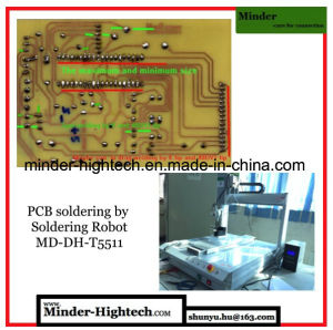 Full English Version 5 Axis Soldering Robot MD-Dh-T3311 pictures & photos