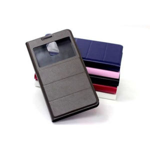 Silk Print Leather Flip Case for Samsung Galaxy S5 I9600