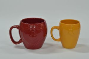 Red Yellow Mug pictures & photos