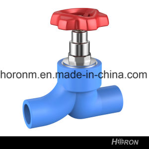Water Pipe-PPR Fitting-PPR Stop Valve-Blue PPR Stop Valve-Stop Valve-Valve pictures & photos