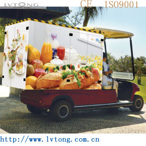 Chinese 2 Seaters Electric Food Delivery Cart pictures & photos