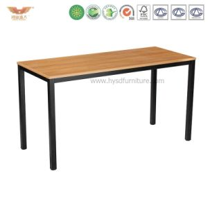 Office Furniture Wooden Straight Desk for Home Office (HYSD-04) pictures & photos