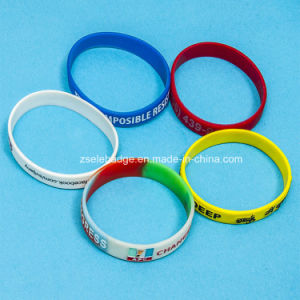 Custom Silicone Wristband for Promotion pictures & photos
