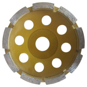 Stone Concrete Diamond Disc Cup Grinding Wheel pictures & photos