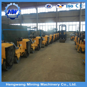 Mini Walking Behind Vibrating Road Roller for Sale pictures & photos