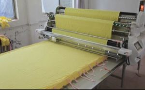 TM-190 Automatic Spreading Machine for Garment and Home Textile pictures & photos