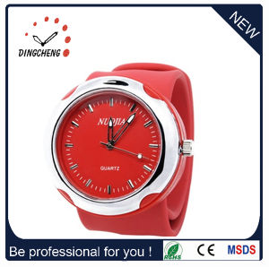 Promotion Sport Wrist Plastic Fashion Silicone Slap Watch (DC-097) pictures & photos