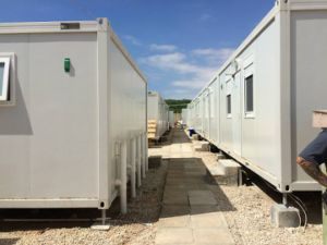 Flat Pack Container House Build in Doha for World Cup 2022 -Fp20160312
