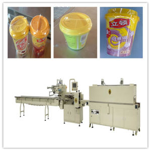 Tableware Shrink Packing Machine with Shrinkable Tunnel pictures & photos