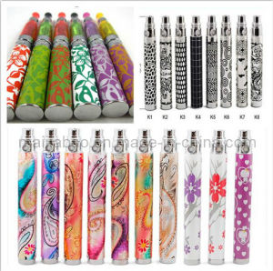 Electronic Cigarette EGO-K Dragon with Pattern Printed & Dragon Lasered Battery