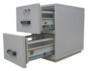 Filing Cabinet, Office Metal Fireproof Safes with UL Two Hour Fire Rated pictures & photos