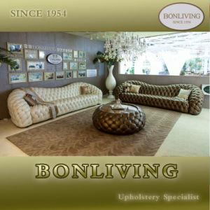 Original Italian Design White Chesterfield Sofa (B6-C) pictures & photos