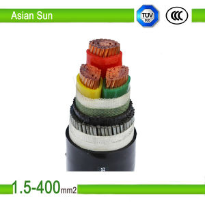 0.6/1kv Cu Conductor PVC/XLPE Insulated Power Cable pictures & photos