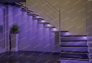 Step Aluminum LED Profile for SMD LED Strip
