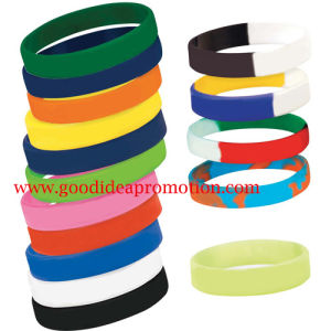 Silicone Bracelet with Special Customer′s Logo pictures & photos