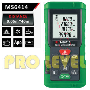 Professional 40m Laser Distance Meter (MS6414) pictures & photos