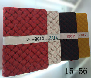 2017 Hot Sale PU Leather Diary Notebook pictures & photos