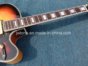 Thick Semi Hollow Body Jazz 335 325 L5 Celluloid Binding Three Pickups Bigsby Guitar pictures & photos