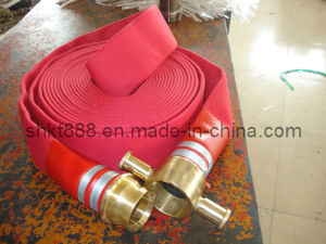 Single Jacket Fire Hose pictures & photos