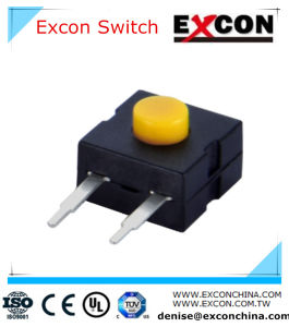 on off Flash Tact Switch Excon China Manufacturer with High Quality