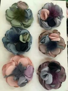 New Design Handmake Silk Flowers with Ribbon pictures & photos