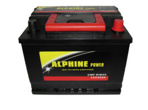 DIN45 12V45ah Mf Car Battery/ DIN Auto Battery/ Mf Storage Battery pictures & photos