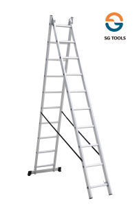 Two Section Extension Combination Aluminum Ladder (SG-LE202)