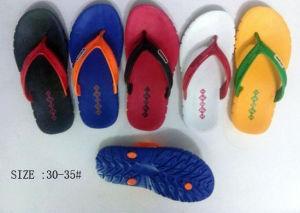 Newtest Child EVA Flip Flops Slipper Beach Sandal (XC-1102) pictures & photos