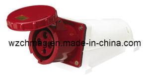 Industrial Socket IP67 3p+E 63A 134