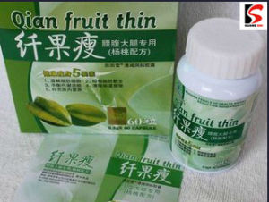 Qian Fruit Thin Slimming Capsule, Herbal Weight Loss Pills pictures & photos