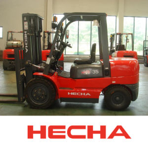 Hecha Forklift 3.5 Ton Diesel Forklift Cpcd35 on Sale pictures & photos