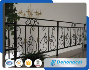 Galvanized Wrought Iron Balcony Fence / Security Railing / Balcony Balustrades pictures & photos