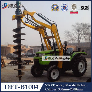 High Quality Dft-B1004 Hydraulic Screw Pile Driver pictures & photos