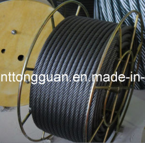 High Quality Ungalvanized Steel Wire Rope pictures & photos