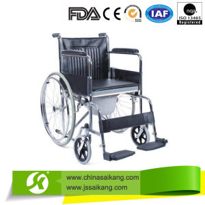 Accommodate Chair with Plastic Footplate for Disabled People pictures & photos