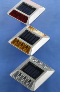 Factory Original 75mm Height Solar LED Road Stud with Two Side Lights pictures & photos