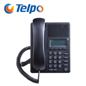 Factory Price 2 SIP-Ports VoIP Desk Corded Basic Office Telephone pictures & photos