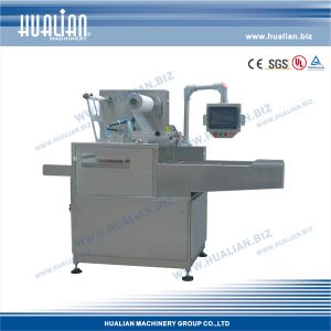 Hualian 2015 Automatic Tray Vacuum Gas Flushing Packaging Machine (HVT-450A/2) pictures & photos