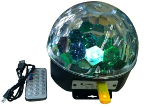 LED Magic Ball Light with MP3 Play battery Power with Bluetooth