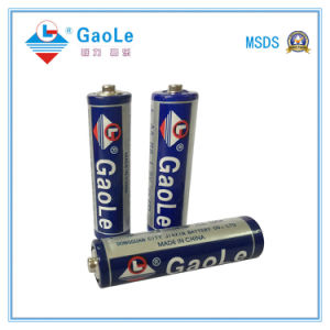 Super Heavy Duty AA R6 1.5V No-Rechargeable Battery pictures & photos