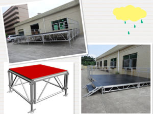 Aluminum Adjustable Stage for Party Event pictures & photos