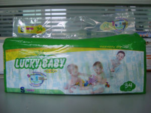 Quick Dry Soft Cotton Surface Economic Disposable Baby Diapers/Nappy/Fraldas OEM Service pictures & photos