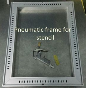 Stencil Frame (pneumatic type) for Neoden Screen Printer Pm3040 pictures & photos