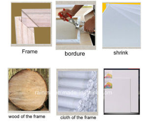 Blank Stretched Canvas for Educational Toys pictures & photos