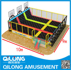 Jumper Trampoline Bed for Play Ground (QL-1202D) pictures & photos