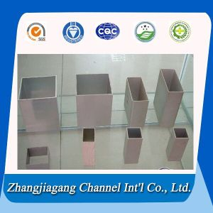 6000 Series Aluminium Square Tubes in Different Sizes pictures & photos