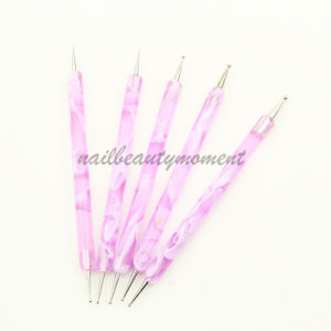 Art Nail Dotting Tool Pens Beauty Care Manicure Products (B002) pictures & photos